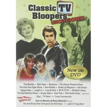 CLASSIC TV BLOOPERS (DVD/UNCENSORED) (DVD) (Community Halloween Bloopers)