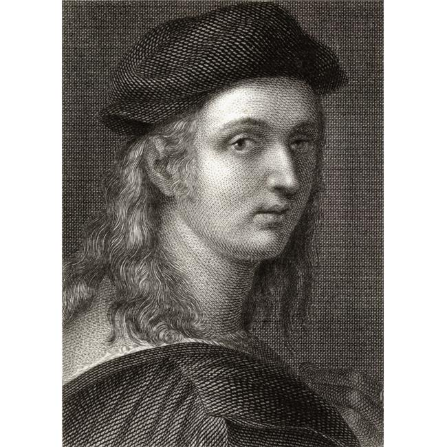 Posterazzi DPI1859708 Raffaello Sanzio 1483-1520 Italian Painter & Architect 19th Century Engraved by William Finden From A Painting Poster Print, 13 x 18 - image 1 de 1