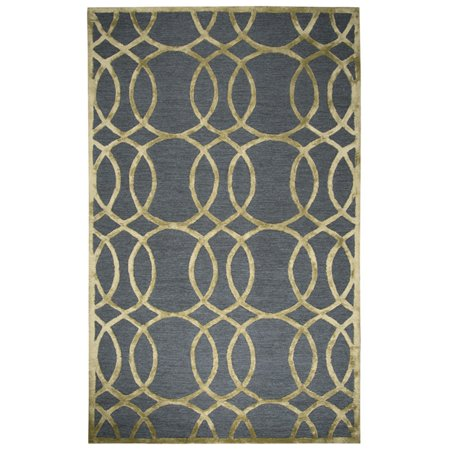 Crystal Viscose Collection (RIZZY HOME MONROE COLLECTIONS ME078A 9' x 12' AREA RUGS )