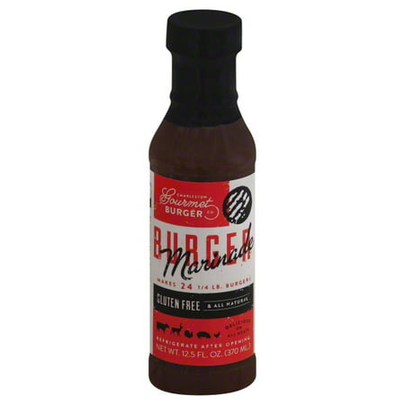 Charleston Gourmet Burger Charleston Gourmet Burger  Marinade, 12.5 oz