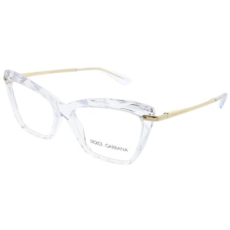 Dolce & Gabbana  DG 5025 3133 53mm Womens  Cat-Eye Eyeglasses By Dolce & Gabbana Eyeglasses