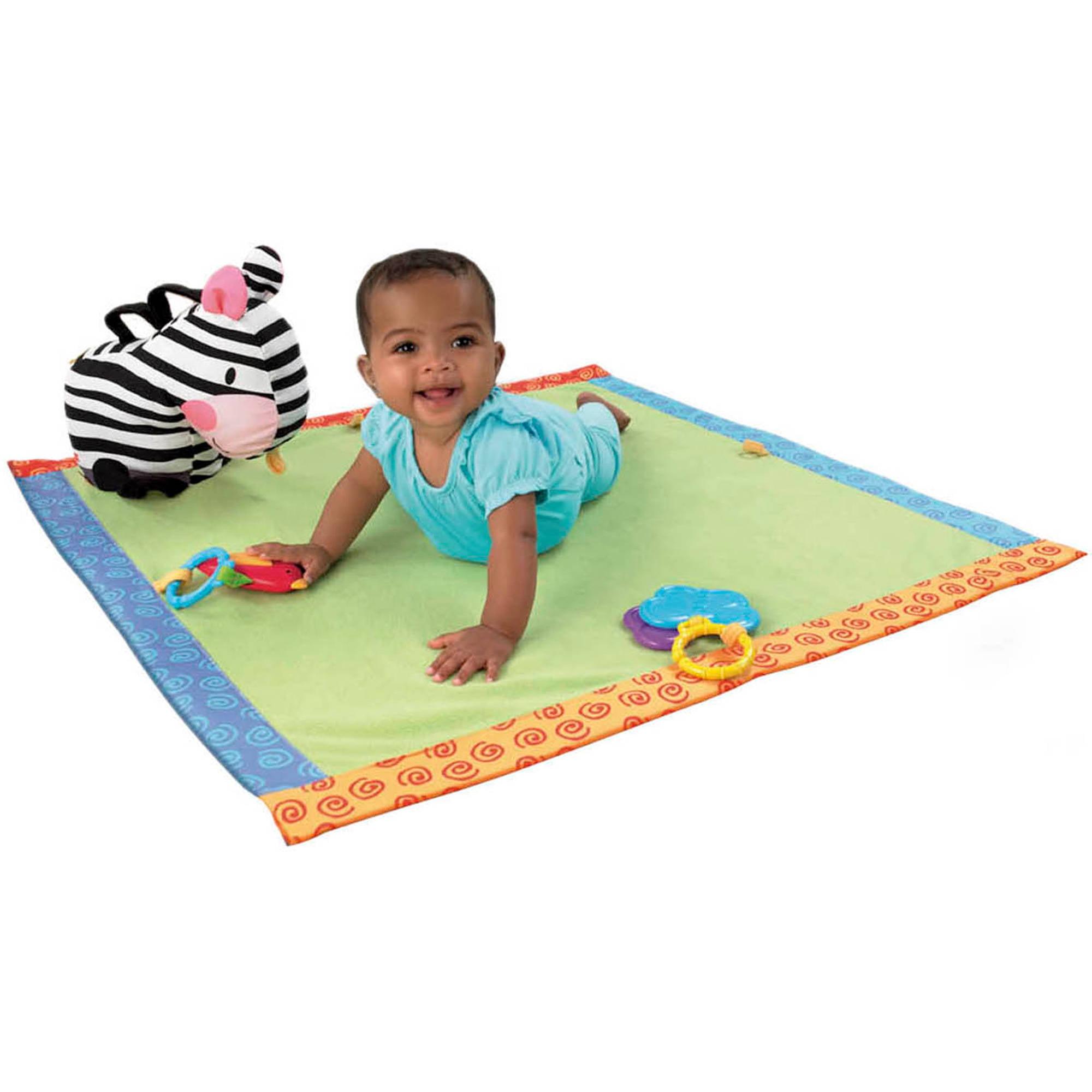 Fisher-Price - Cuddle N' Play Zebra Blankie