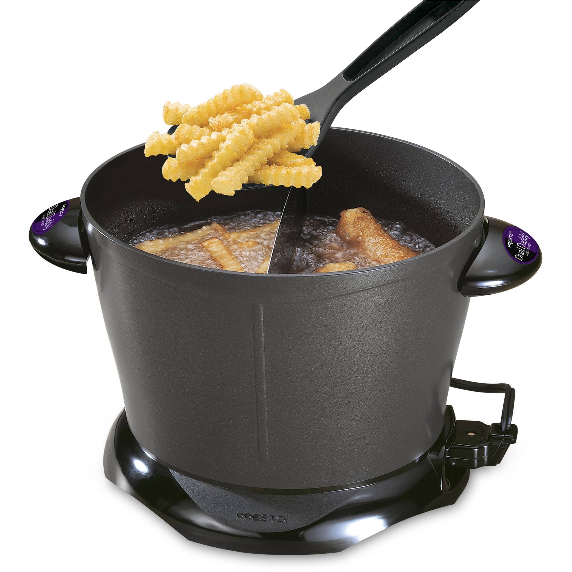 Presto DualDaddy 8-Cup Electric Deep Fryer