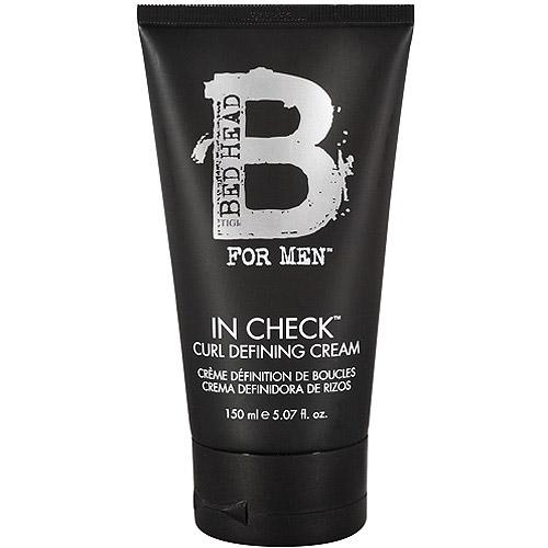 Tigi Bed Head for Men In Check Curl Defining Cream, 5.07 oz