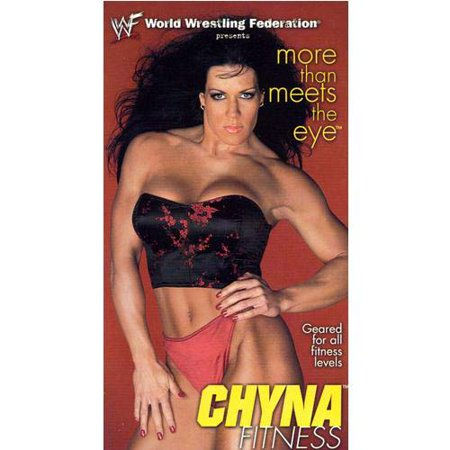 WWF Chyna Fitness More Than Meets The Eye (2000) WWE Wrestling VHS Tape (Wwe 1999 Vhs)