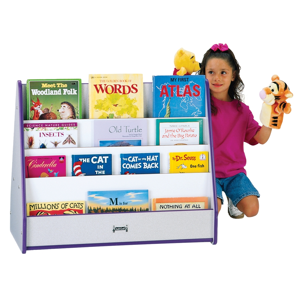 Double Sided Pick-a-Book Stand - Yellow
