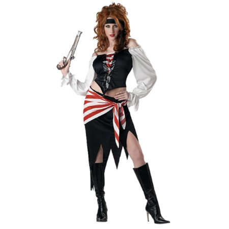 California Costumes Womens Ruby the Pirate Beauty Costume Large 10-12 ()