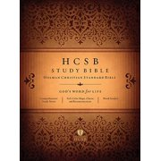 HCSB Study Bible, Jacketed Hardcover