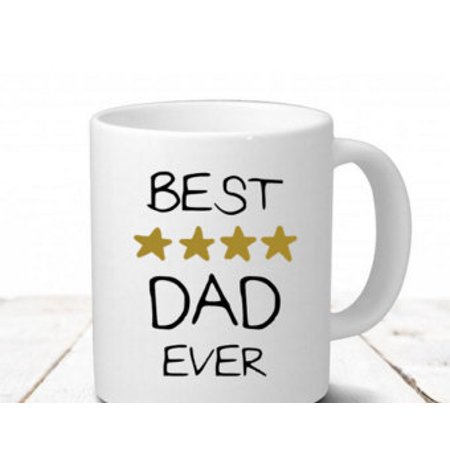 Fabricmcc Best DAD Ever Mug