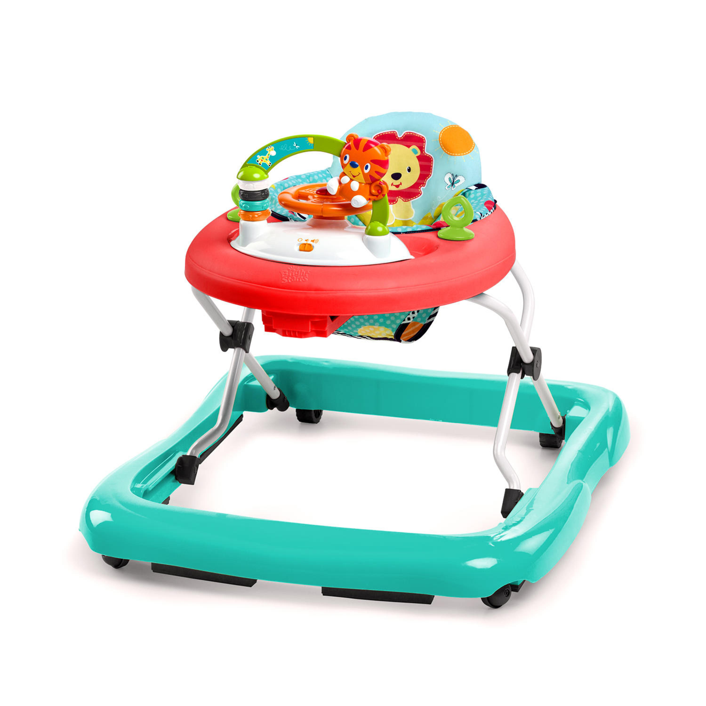 Bright Starts Roaming Safari Walker with Activity Station