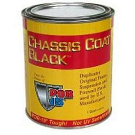- POR-15 45908 Top Coat, Chassis Black, Pint