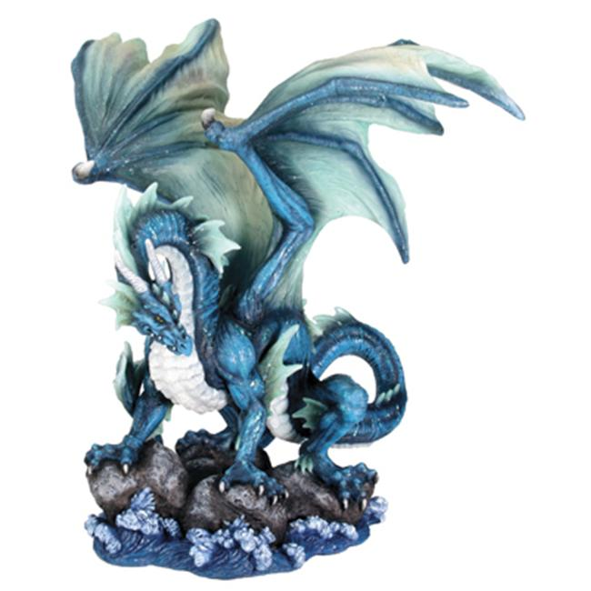 YTC SUMMIT 7466 Water Dragon Figurine - C-1