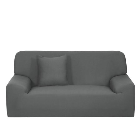 Stretch Chair Sofa Covers 1 2 3 4 Seater Gray Sofa-4seater - image 1 of 8
