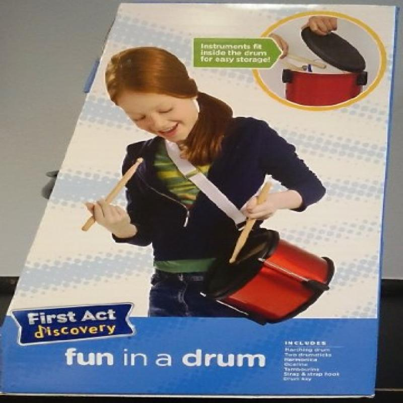 First Act Discovery Fun in a Drum, Stars