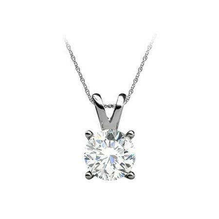 Favorite Gemstone Diamond Pendant in 14K White Gold - image 1 de 2