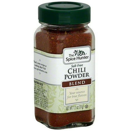 The Spice Hunter Chili Powder Blend, 1.1 oz (Pack of (Kentucky Fried Chicken 11 Herbs And Spices Recipe)