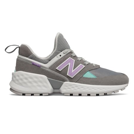 New Balance Women's 574 Sport Shoes Grey with Purple