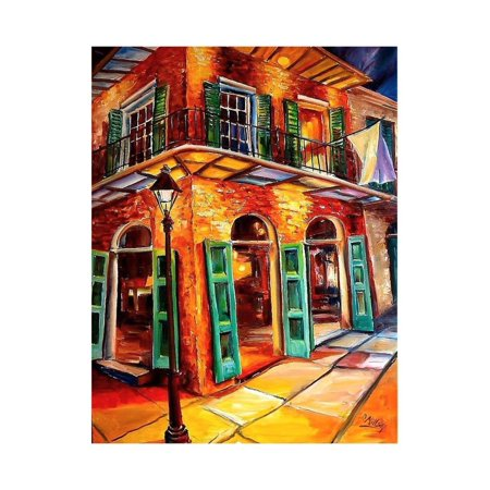 New Orleans Jazz Corner Print Wall Art By Diane