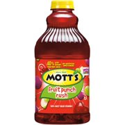 Mott's Fruit Punch Rush, 64 Fl. Oz.