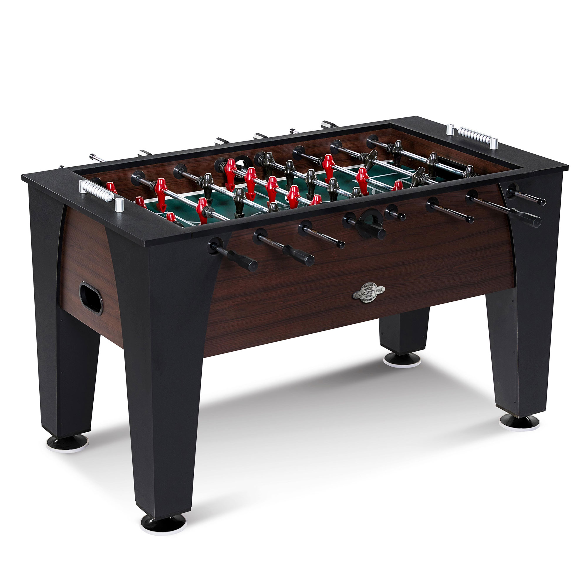 Lancaster 54 Inch Foosball Soccer Game Room Competition Sports Arcade Table by Lancaster Gaming Company