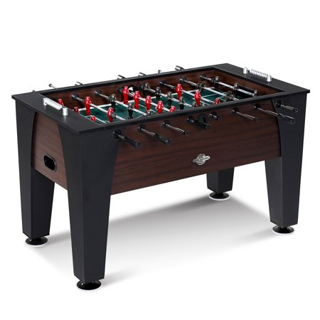 (Lancaster 54 Inch Foosball Soccer Game Room Competition Sports Arcade Table)
