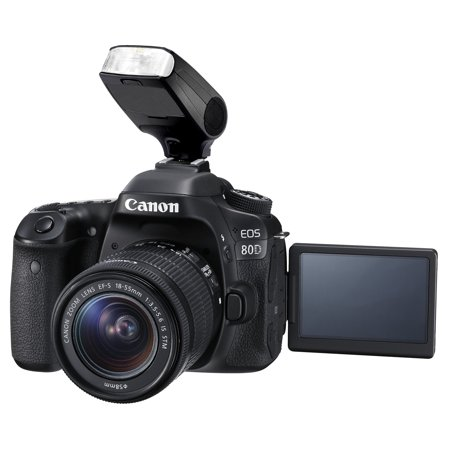 Canon EOS 77D (TTL) Bounce, Swivel Head Compact Flash (Flash Only)