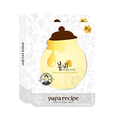 Papa Recipe Bombee Whitening Honey Mask Pack - Papa Emeritus Mask