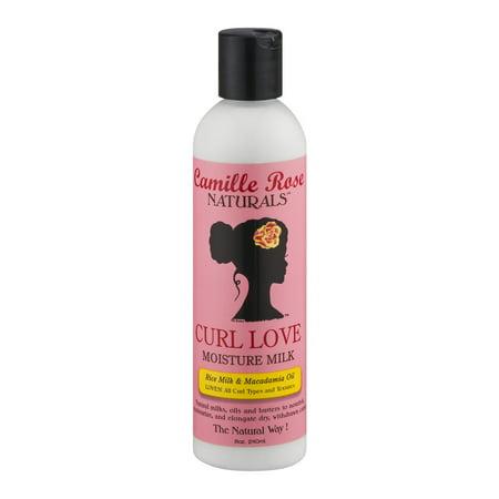 Camille Rose Curl Love Milk 8 oz