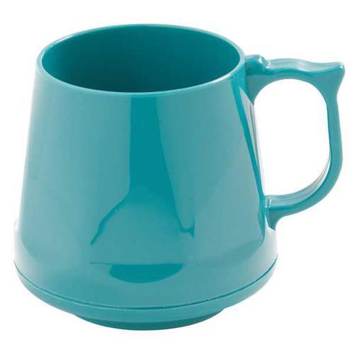 CARLISLE DINEX DX400015 Mug, Insulated, Teal, PK 48