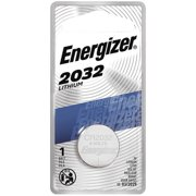 2 Pack - Energizer Watch/Electronic Battery 3 Volt 2032 1 Each