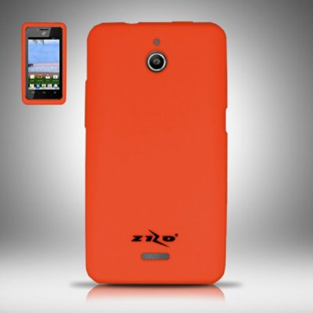 Silicone Skin Case for for Huawei Ascend Plus H881C - Orange](phone cases for huawei h881c)