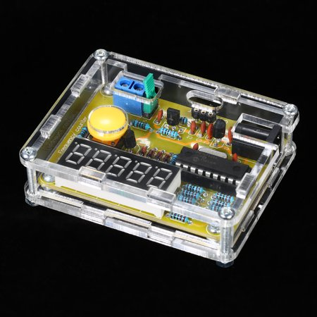 DIY Frequency Tester Crystal Counter Meter Oscillator Tester with Transparent Case 1Hz~50MHz - image 6 of 7