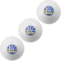 Golden State Warriors Pack of 3 Golf Balls - No Size