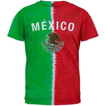 Mexican Flag Tie Dye T-Shirt -
