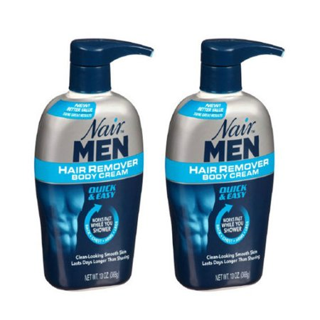 (2 Pack - Nair Men Hair Removal Body Cream 13 oz (368 g) Each)