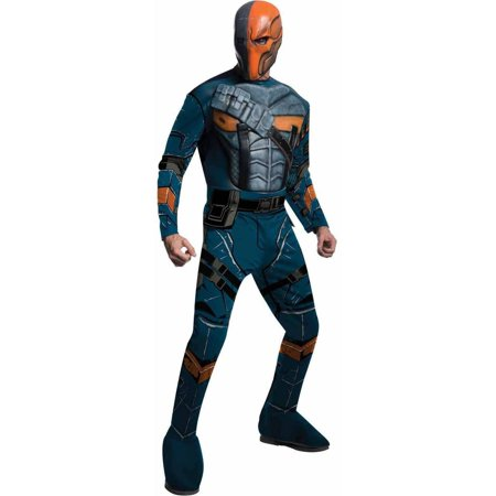 Batman Arkham Deathstroke Deluxe Men's Adult Halloween - Please Help Batman Halloween