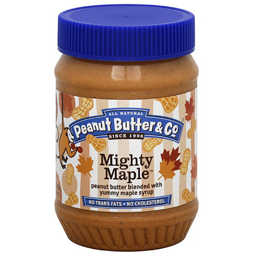 Peanut Butter & Co. Mighty Maple Peanut Butter, 16 oz (Pack of 6)