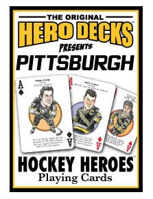 Pittsburgh Pens Hockey Playing Cards By Channel Craft by