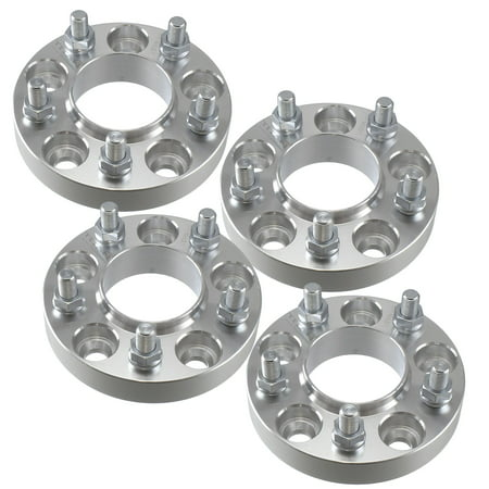 (4) 32mm 5x114.3 Hubcentric Wheel Spacers (67.1mm Bore) - For Mitsubishi Lancer Evo & Others