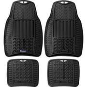 Michelin 4PC Rubber Mats, Black
