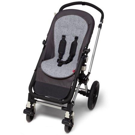 Skip Hop Stroll & Go Cool Touch Stroller Liner, Heather (Skip Hop Stroll And Go Phone Tether)