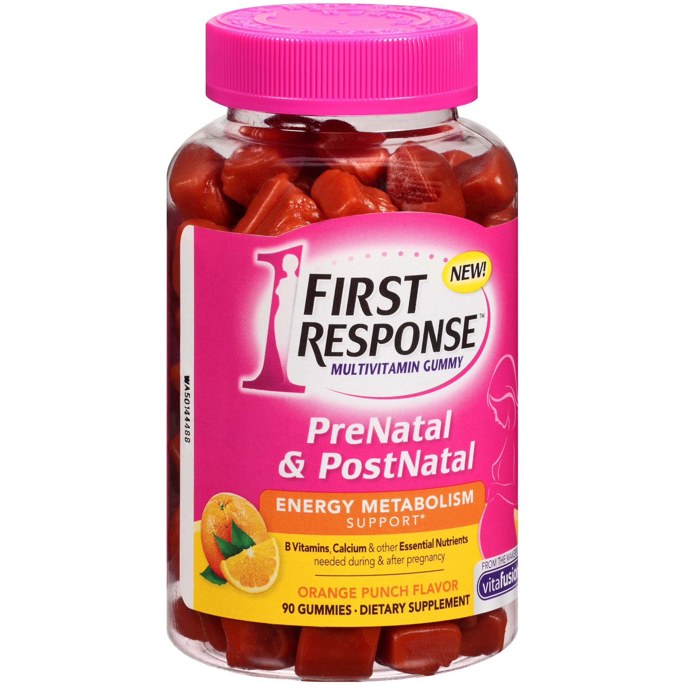 First Response™ PreNatal & PostNatal Multivitamin Gummies 90 ct. Bottle
