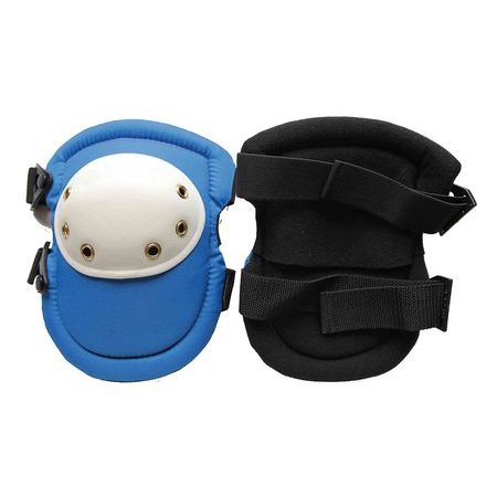 Westward 12F687 One Size Fits All Black/Blue/White Knee Pads ()