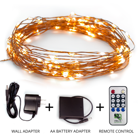 fairy star string lights 39ft extra long led copper wire all season decor lighting