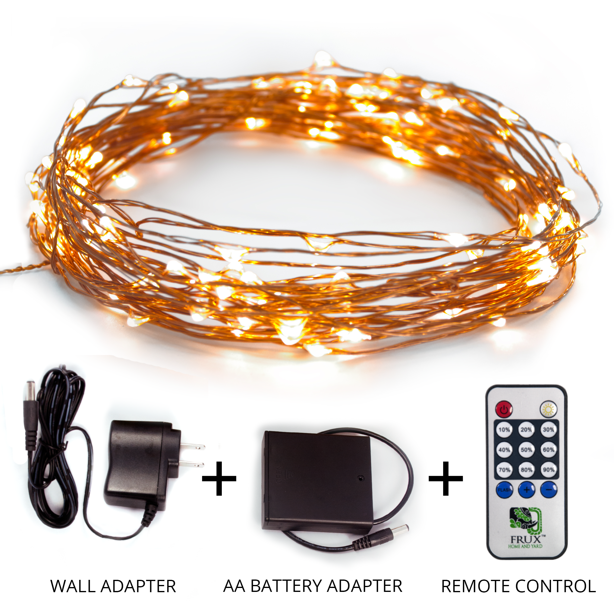 Fairy Star String Lights   39ft Extra Long LED Copper Wire All Season Decor  Lighting,