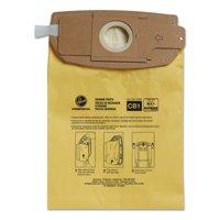 Hoover Commercial Disposable Vacuum Bags, Allergen C1, 10/Carton
