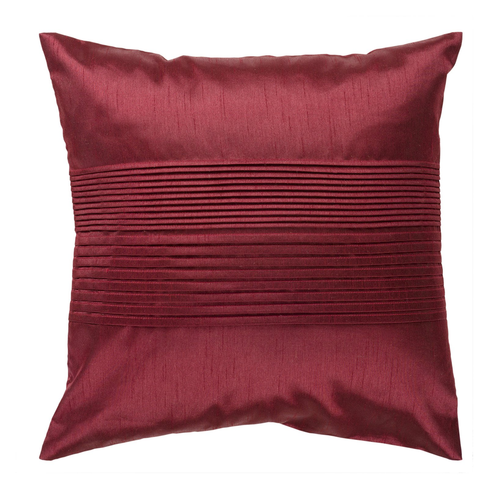 Surya Bustle Decorative Pillow - Maroon