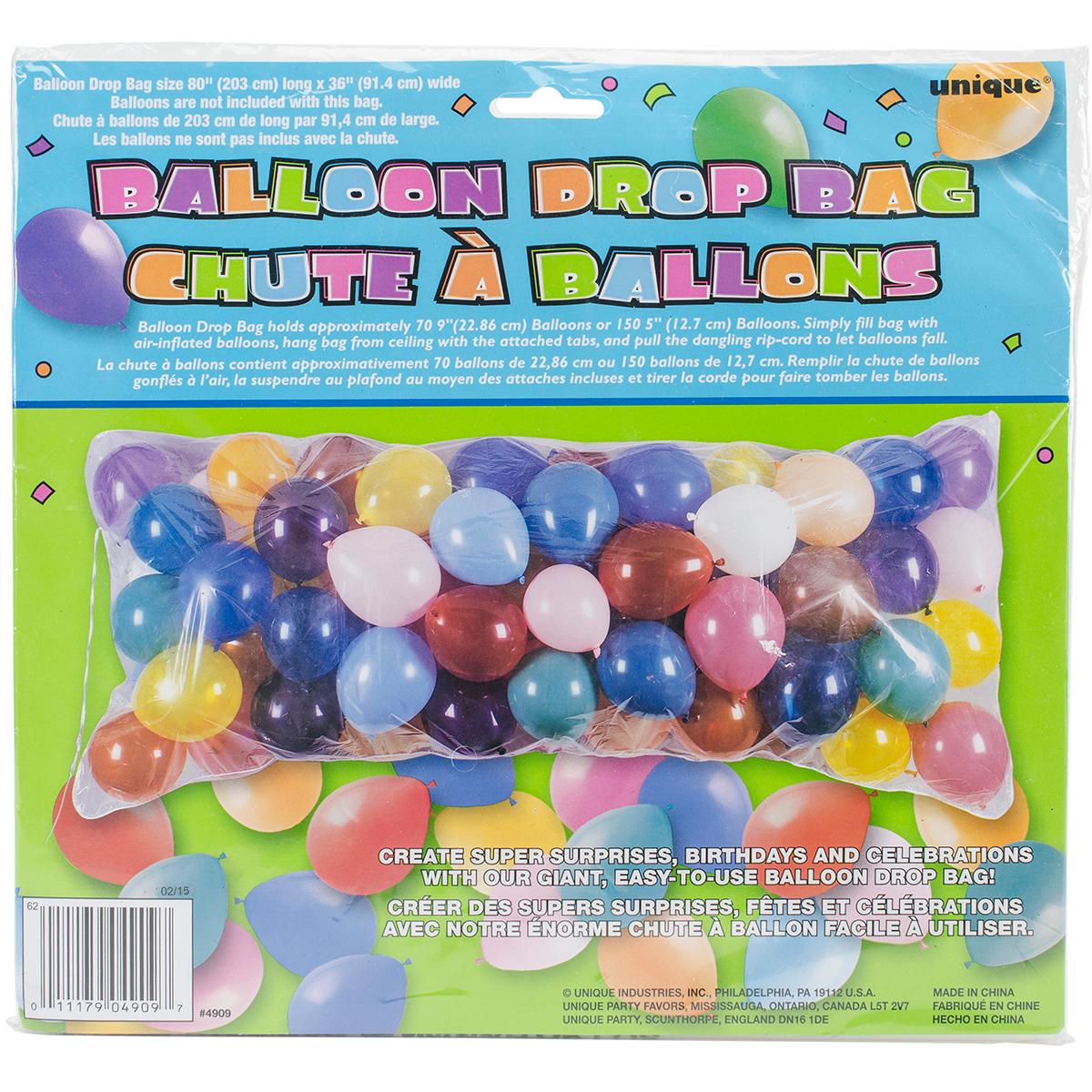 Balloon Drop Bag, 80in