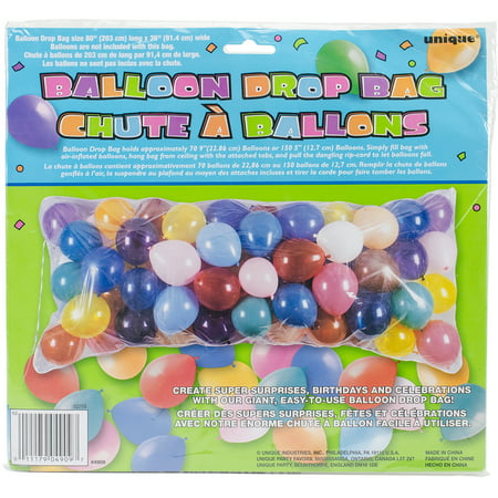 Balloon Drop Bag, 80in](Balloon Bags)
