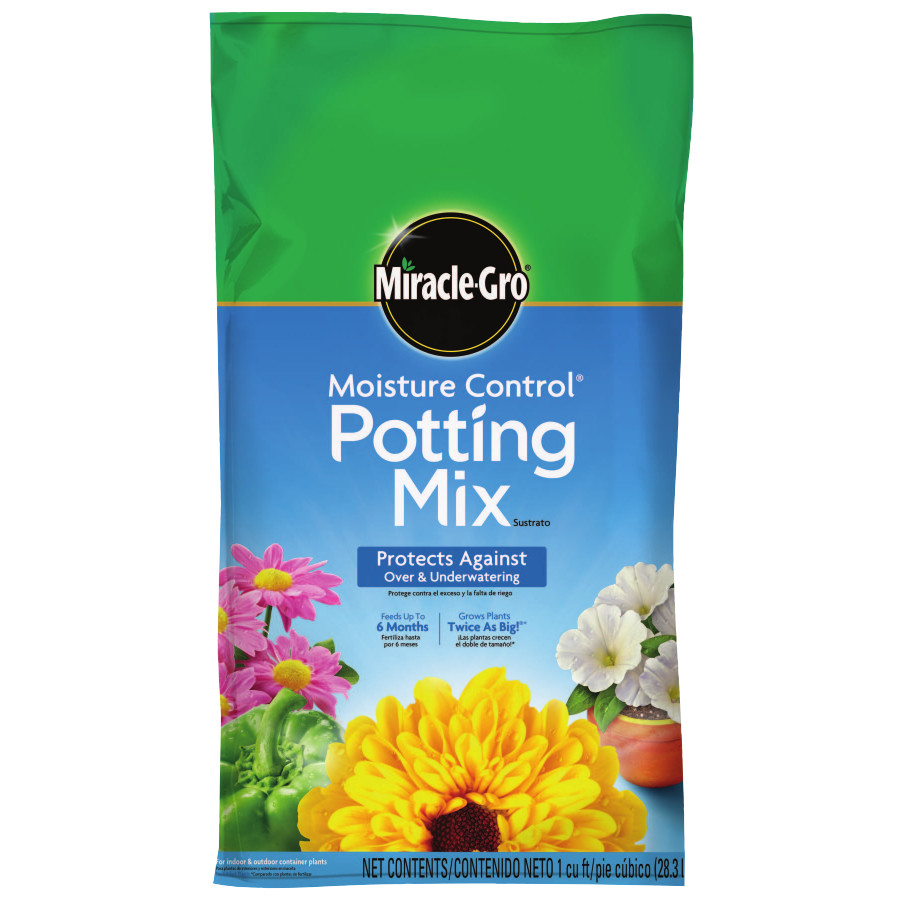 Miracle-Gro Moisture Control Potting Mix, 1 cu ft